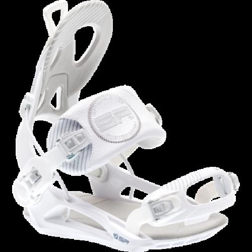L BLACK YELLOW WHITE Brand New Snowboard Bindings SP private   Sz S M